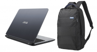 ASUS X407MA-BV318T 4GB|500GB 14INCH GREY WITH BACKPACK
