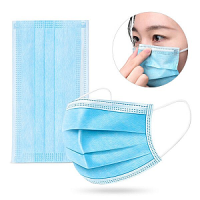 FACE MASK DISPOSABLE 3 PLY SINGLE USE