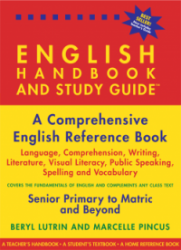 ENGLISH HANDBOOK AND STUDY GUIDE