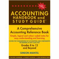 ACCOUNTING HANDBOOK AND (STUDY GUIDE)