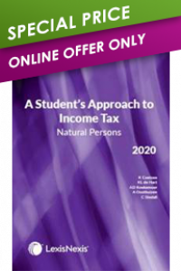 STUDENT APPROACH TO INCOME TAX: NATURAL PERSONS 2020