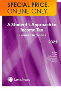 STUDENT APPROACH TO INCOME TAX: BUSINESS ACTIVITIES 2021