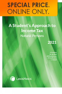 STUDENT APPROACH TO INCOME TAX: NATURAL PERSONS 2021