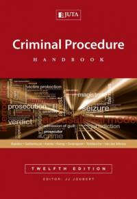 CRIMINAL PROCEDURE HANDBOOK
