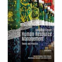 SA HUMAN RESOURCE MANAGEMENT: THEORY AND PRACTICE