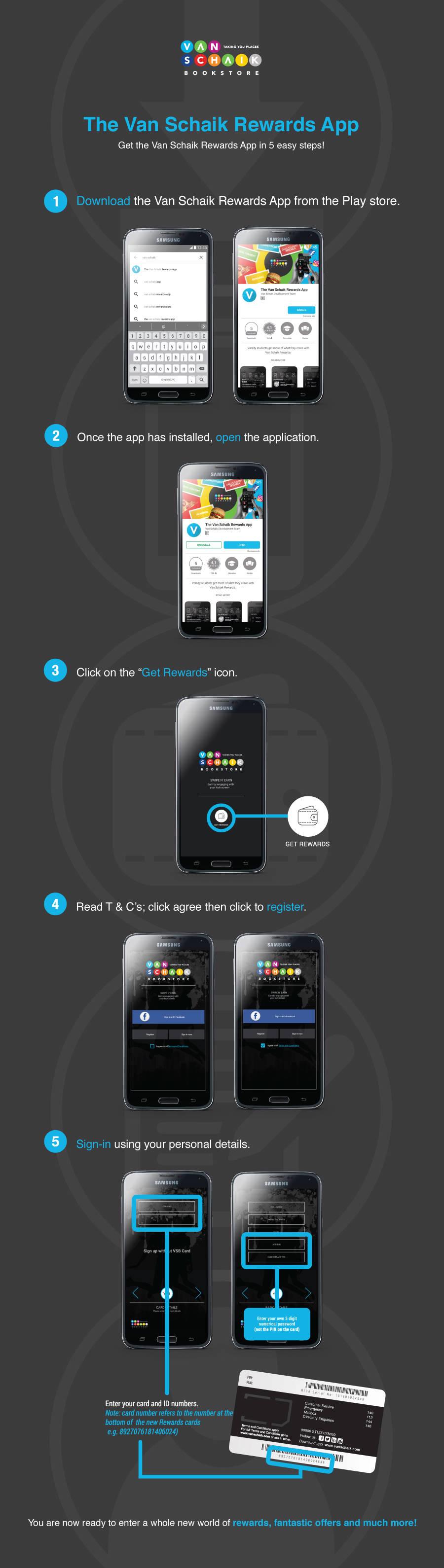 How to download the app | Van Schaik
